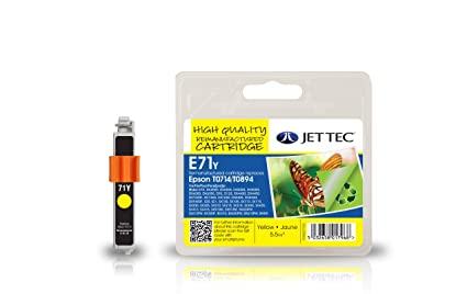 Jet Tec E111Y Yellow Inkjet Cartridge - Cartucho de tinta ...