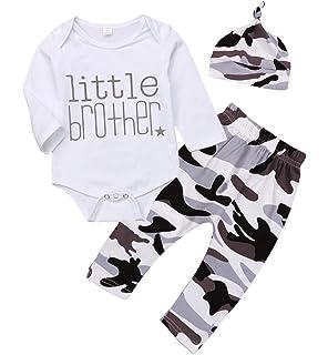 Cap Set Jarsh Newborn Baby Boys Girls I Love You Letter Print Long Sleeve Jumpsuit