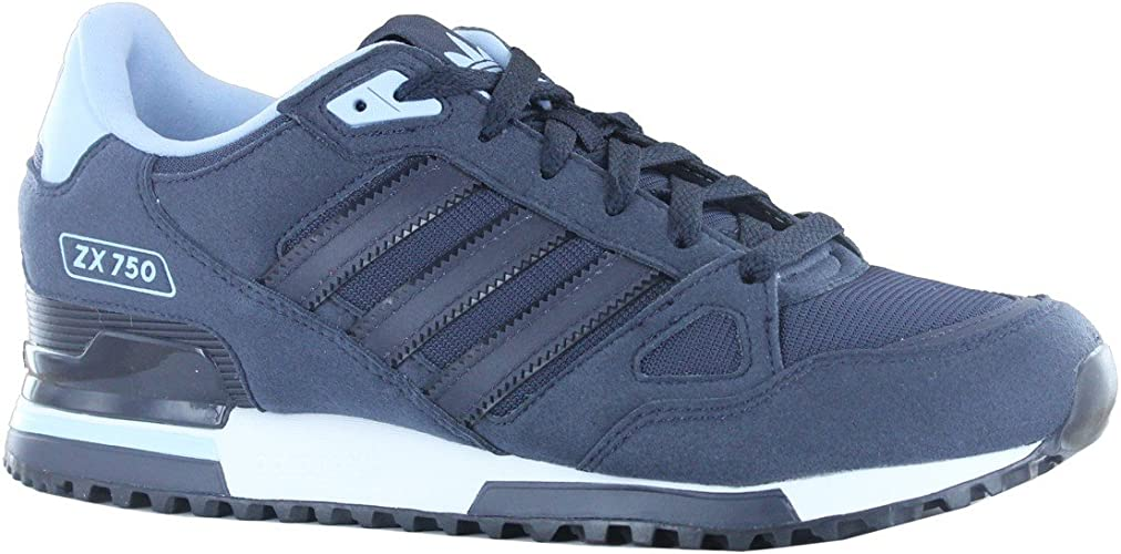 Adidas ZX 750 Navy Mens Trainers Size 9
