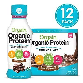 33a0f3ce2 Amazon.com   Orgain Organic 21g Vegan Plant Based Protein Shake ...