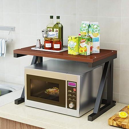 Estante de cocina, microondas, para cocina, estantería de ...