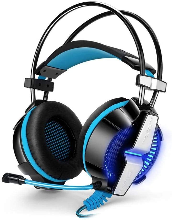 SMART 3.5mm in line Control Bass LED Gaming Headphone with Noise Cancellation