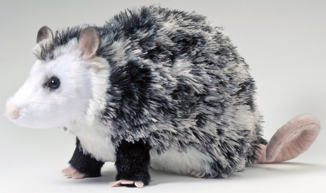 Image result for stuffed opossum toys