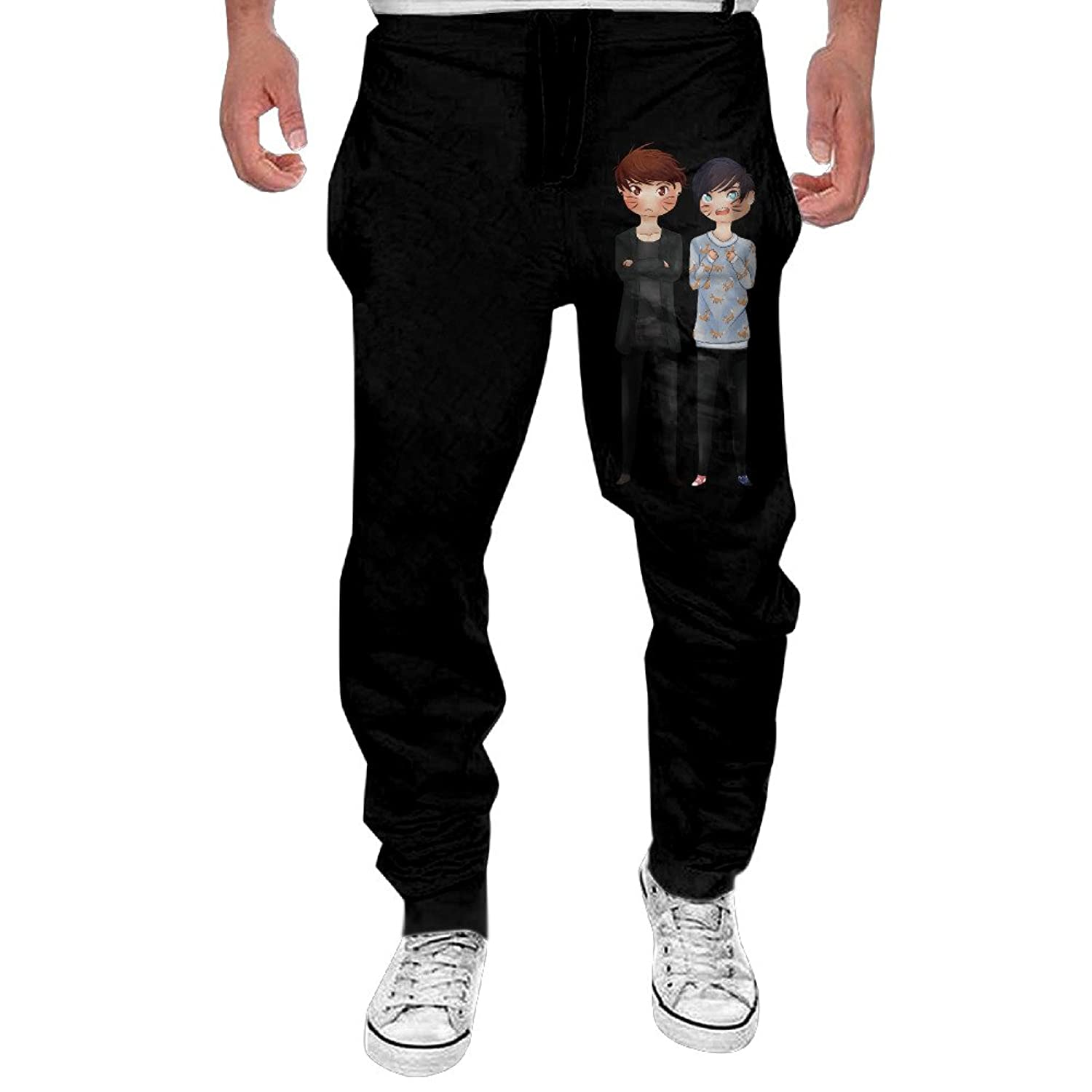 best Mens Fuck Cancer- Awareness Men's Casual Sweatpants Pants ...