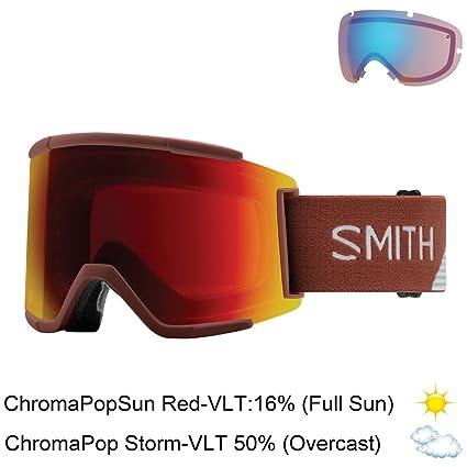 Amazon.com: Smith Optics adulto Squad XL anteojos para nieve ...