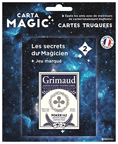 Cartamagic Grimaud - Jeu Magic Marked - Card Game