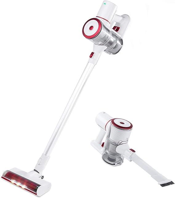 Fityou 15kpa Aspirador Vertical y de Mano Sin Cable Aspira Unlimited Cleaning - Aspirador Escoba con Cepillo Motorizado Flexible 180º, Luz LED, 2 Niveles de Potencia, Boquilla Combinada: Amazon.es: Hogar