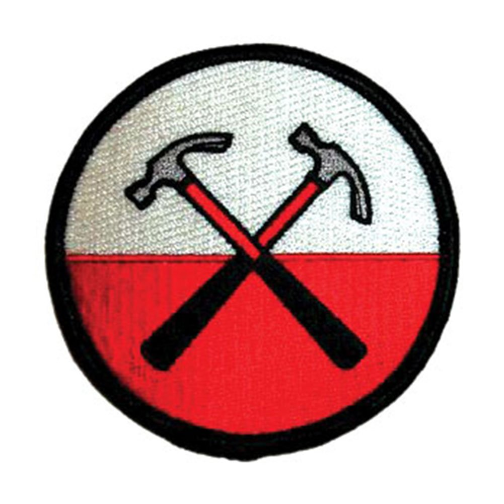 PINK FLOYD Hammers Martelli Patch toppa,Officially Licensed Artwork, Iron-On / Sew-On, 3 x 3 Embroidered ricamato PATCH P-0537