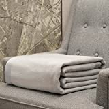 CUDDLE DREAMS Silk Blanket for Spring/Summer, Premium Mulberry Silk, Naturally Soft, Breathable (Silver Gray, King 108'' × 90'')