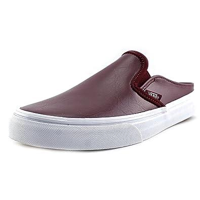 715dc4150caec6 Vans Unisex Classic Slip-On  Mule (Leather) Port Royale True White