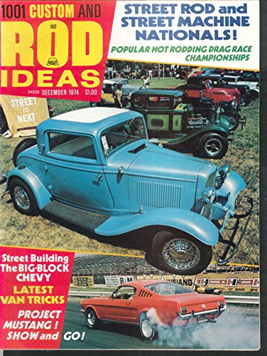 CUSTOM & ROD IDEAS Big-Block Chevy Van Mustang LA Roadster Swap Meet ++ 12 1974 (Swap Meet Magazine)