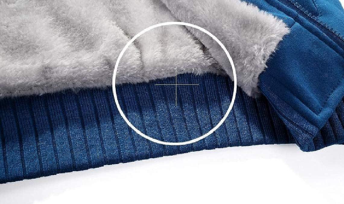 KaWaYi Men Autumn Winter Sports Hooded Plus Velvet Thicken Sweatshirt Hoodies