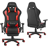 YCGSHOP PC Gaming Chair, Ergonomic Racing Office Chair Computer Game Chair Backrest and Seat Height Adjustment Swivel…