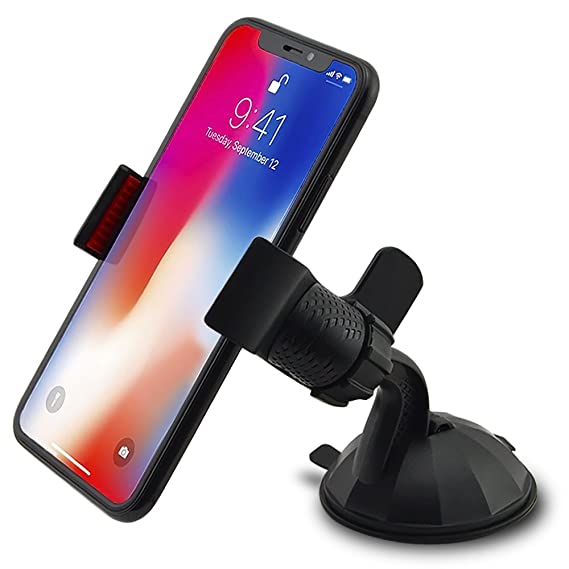 7f0bff2353 In Car Holder for Apple Iphone Xs   Xr   8   7   7 Plus   6s   6   6 ...