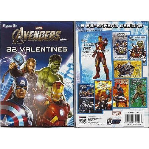 Avengers 32 Valentines Sales