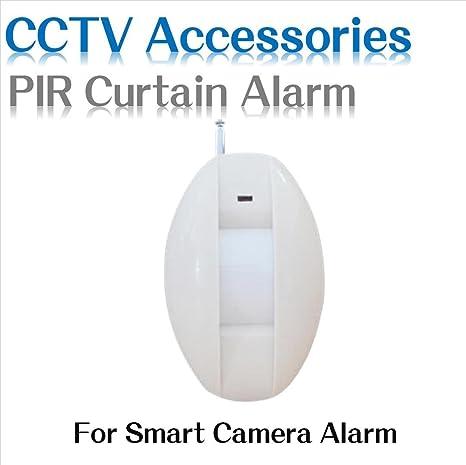 Ventana ARBUYSHOP cortina PIR del detector del sensor infrarrojo inalámbrico cortina PIR PIR Pet inmunidad de