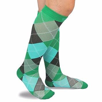 RioRiva Calcetines de compresión para mujeres y hombres, Para todos los deportes, viajes aéreos
