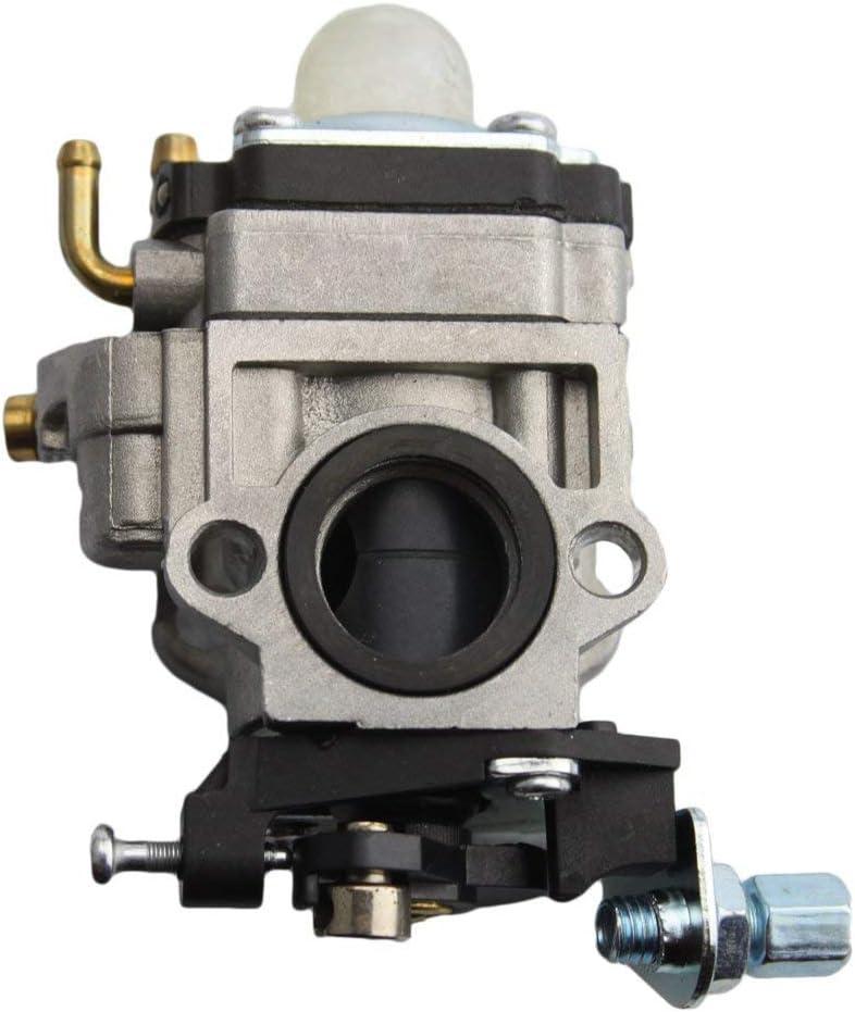 T/&F Carburador de carburador de carburador de repuesto para patinete de gasolina Go-Ped 49 cc 43 cc Mini Moto 15 mm