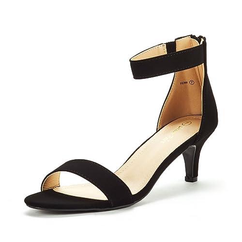 bb0e53b065eff DREAM PAIRS Women's Fiona Fashion Stilettos Open Toe Pump Heeled Sandals
