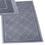 "SlipToGrip Universal Door Mat – XL Size 42"" x 35"" – Anti Slip, Durable & Washable – Duraloop Mesh Entrance Outdoor & Indoor Welcome Mat – Dirt and Dust Absorber"