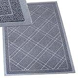 """SlipToGrip Universal Door Mat – XL Size 42"""" x 35"""" – Anti Slip, Durable & Washable – Duraloop Mesh Entrance Outdoor & Indoor Welcome Mat – Dirt and Dust Absorber"""