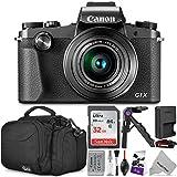 Canon PowerShot G1 X Mark III Digital Camera w/Essential Photo and Travel Bundle