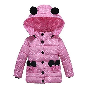 f68f2c7fd Amazon.com  Toddler Kids Coat Baby Girls Thick Hoodie Coat Padded ...