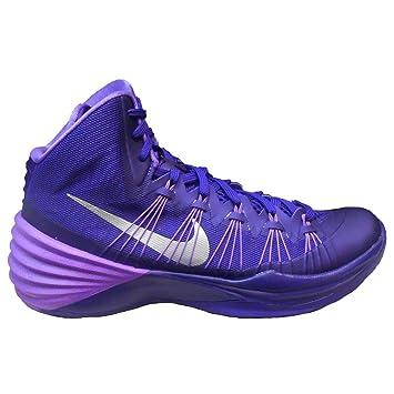 Nike Hyperdunk 2013 TB Women\u0027s Basketball Shoe (14, Court Purple/Metallic  Silver)