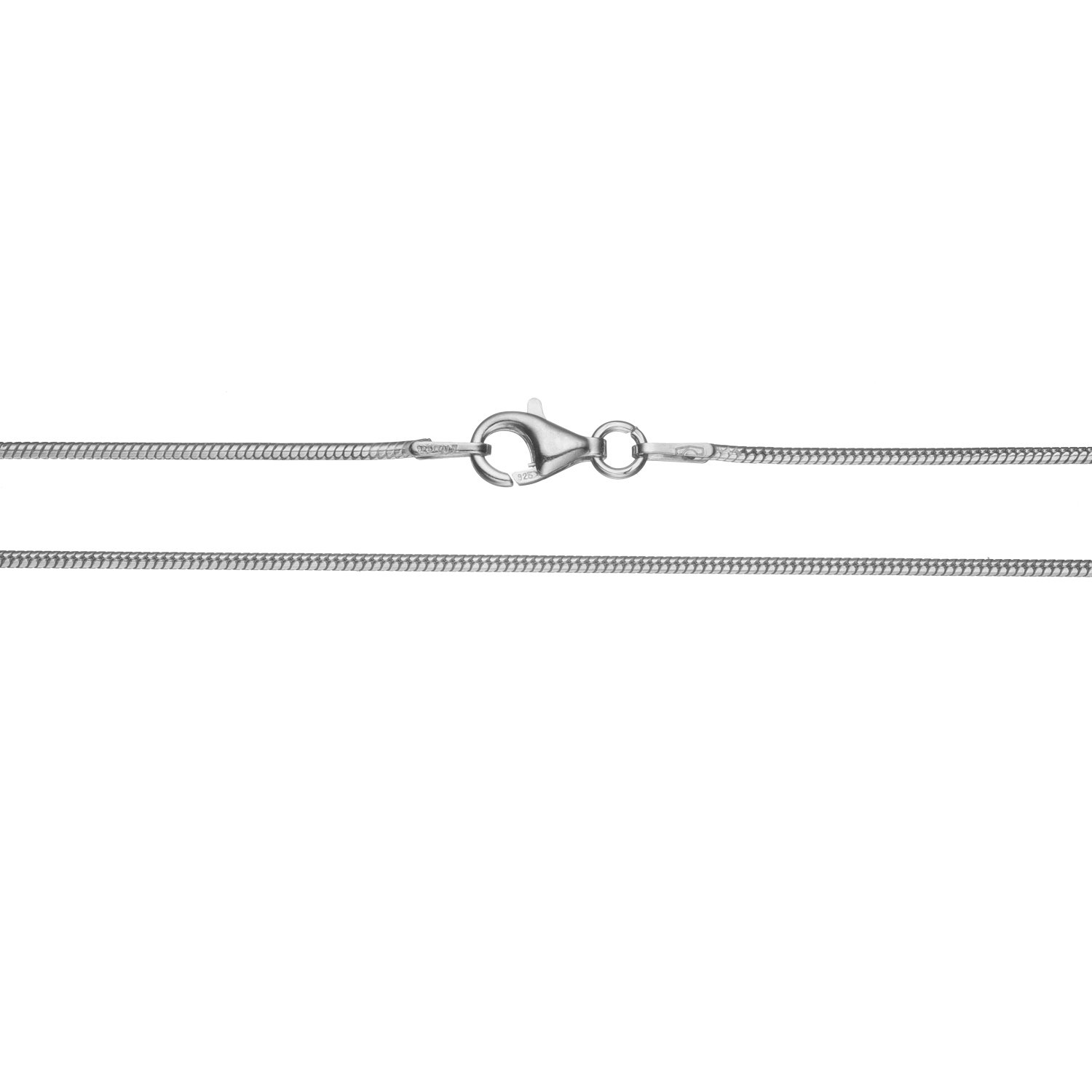 Bling For Your Buck Sterling Silver .9mm Thin Italian Snake Chain Necklace 16-30