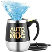 Caneca de café Mengshen autoagitante / chá de mistura magnético automático com proteína de cacau e chocolate quente, 450…