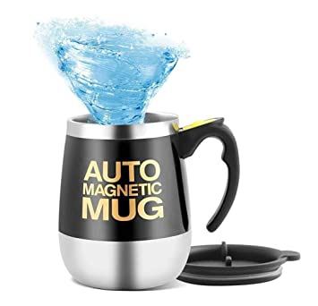 Coffee Tasse Stirring For Mengshen Cup Thermos Femme Magnetic Coffeeteahot Magnétique Auto Mug Automatiquetravel Chocolatecocoa Protein Self H2DWE9IY