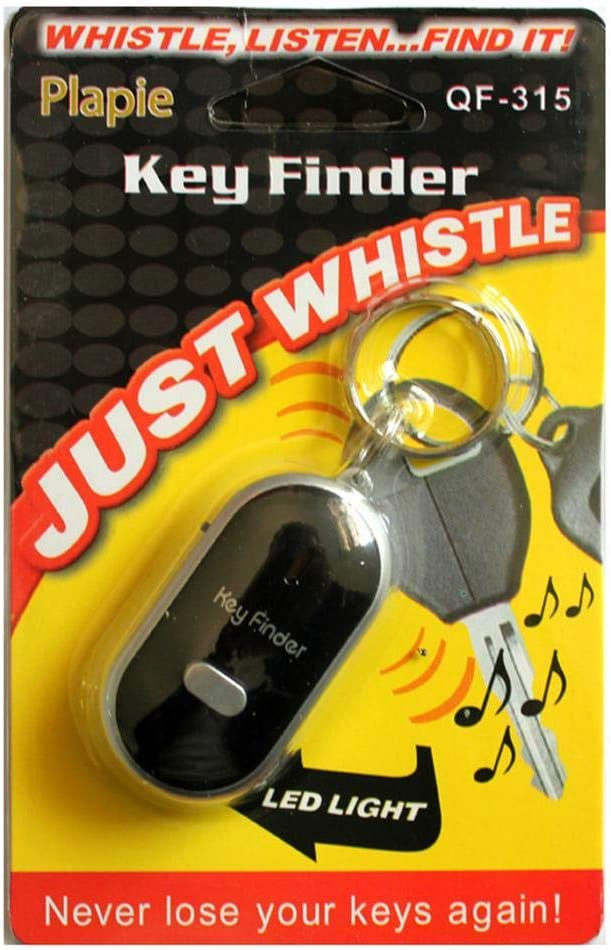 Raspbery Whistle Key Finder Lost Key Finder Localizador Llavero con Control Remoto De Pitido Intermitente