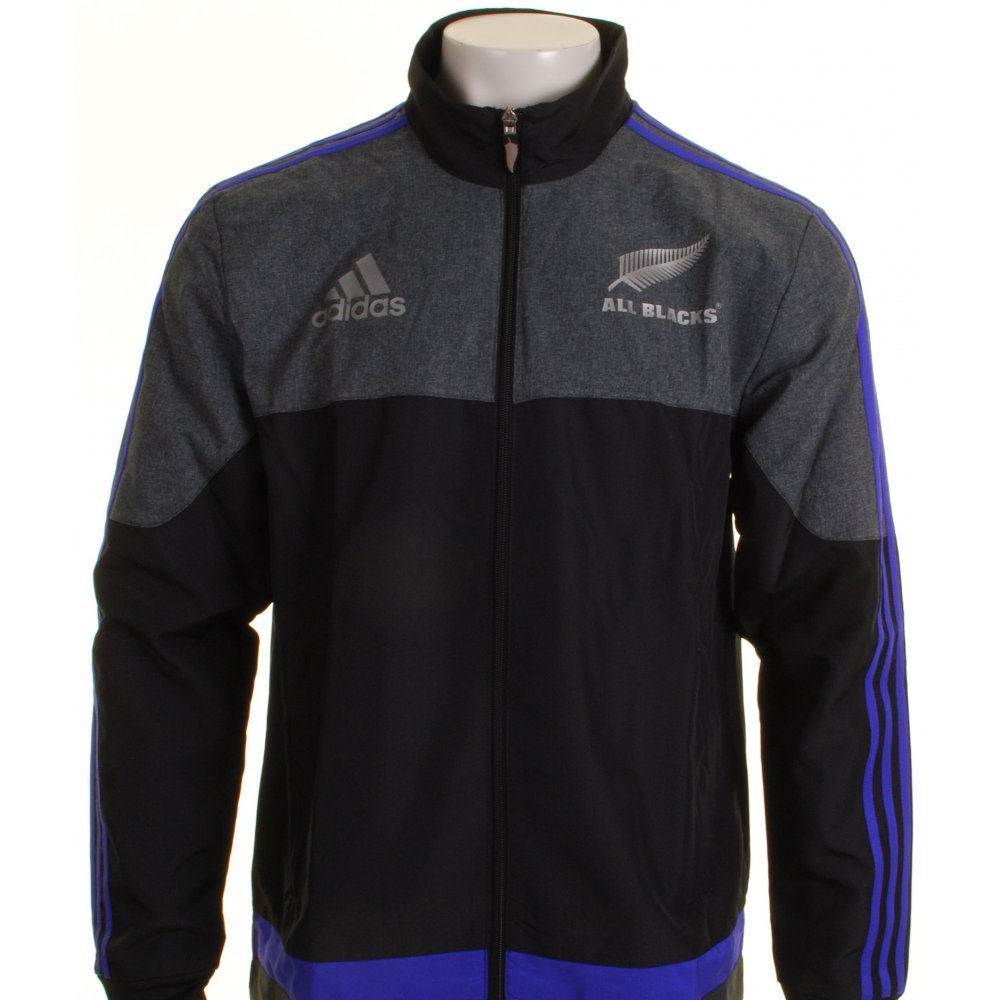 New Zealand All Blacks 2016 Players Presentation Rugby Jacket adidas