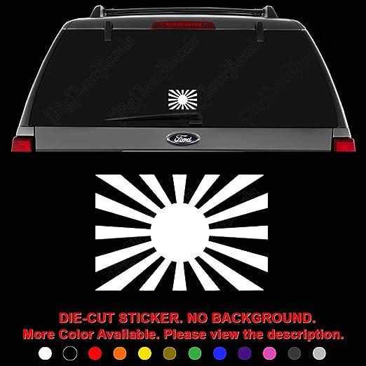 Japan Flag JDM Vinyl Decal Sticker Car Window Truck Decor