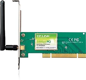 Tp-link tl-wn350gd 54mbps wireless pci adapter tl-wn350gd b&h.