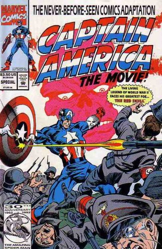 Captain America the Movie (Comic) May 1992 (The Never-Before-Seen Comics Adaptation) ()