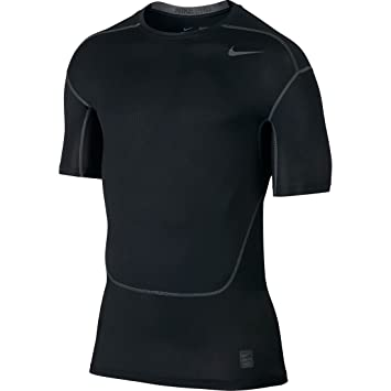 32abd6e0 Nike Pro Hypercool T-Shirt - Black/Dark Grey/Dark Grey, 2X-Large ...