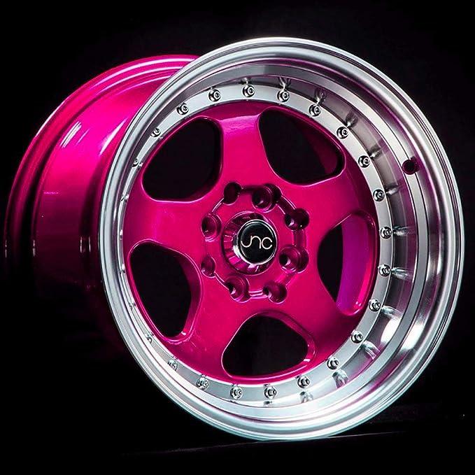 JNC Wheels 15 JNC003 Matte Bronze Rim 4x100//4x114.3-15x8 inch