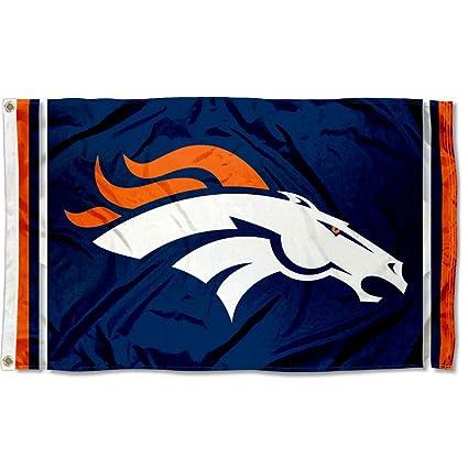 691edfea WinCraft Denver Broncos Large NFL 3x5 Flag