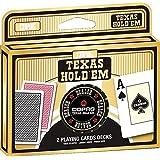 Copag 22540072 - Plastik Poker - Doppeldeck mit Dealer Butten aus Metall