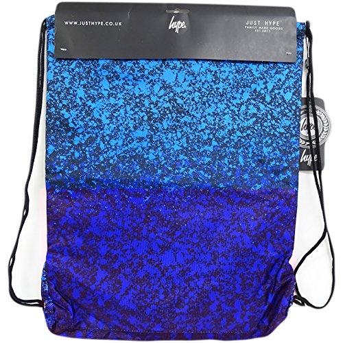 Just Hype Kit 4 (Drawstring) - Bolso al hombro de Poliéster para hombre negro negro Talla única Azul