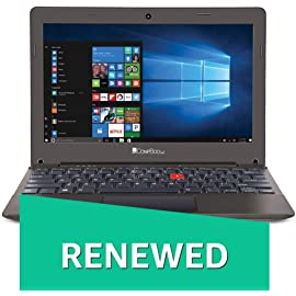 Renewed  iBall CompBook Excelance OHD  Intel Atom Processor X5   Z8350/2  GB/32  GB/29.46cm  11.6  /Win 10   chocolate Brown  IPS SCREEN Laptops