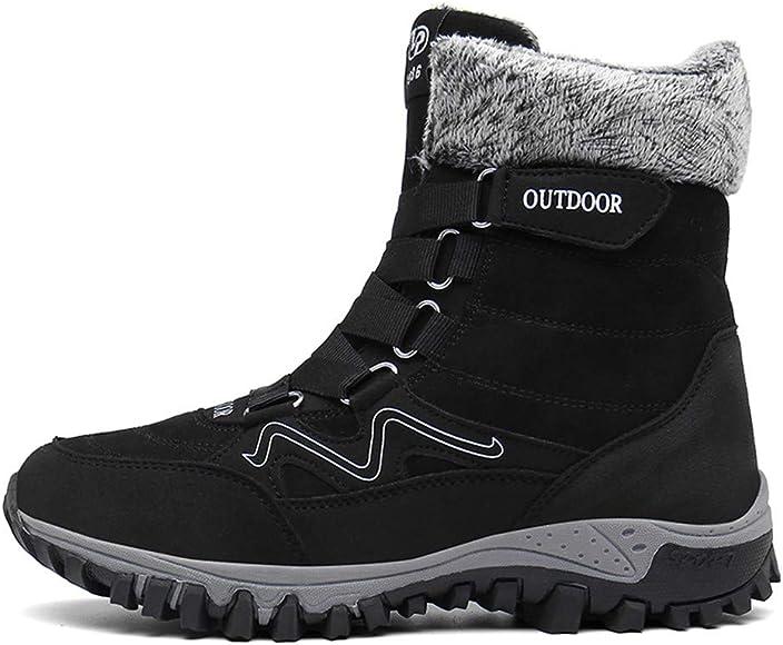 Govicta Mens Hiking Boots Winter Snow