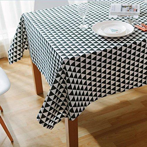 ColorBird Geometric Series Triangle Pattern Cotton Linen Tab