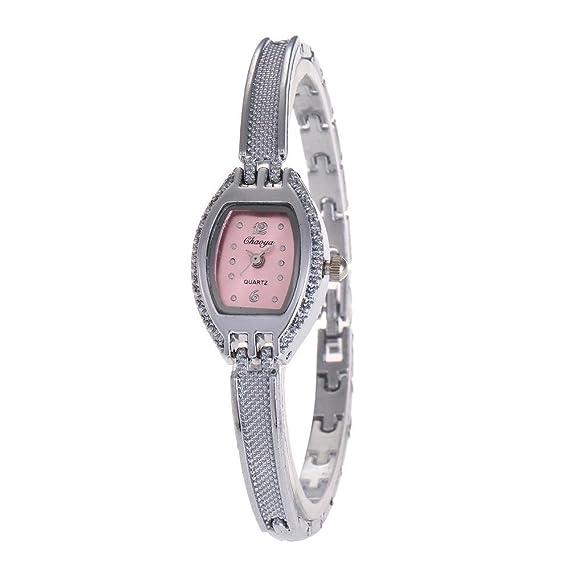 YAZILIND de cuarzo reloj de pulsera exquisita dial de titanio pulsera de acero para las niñas