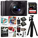 Panasonic LUMIX DMC-LX10K Bundles (64GB Travel Bundle)