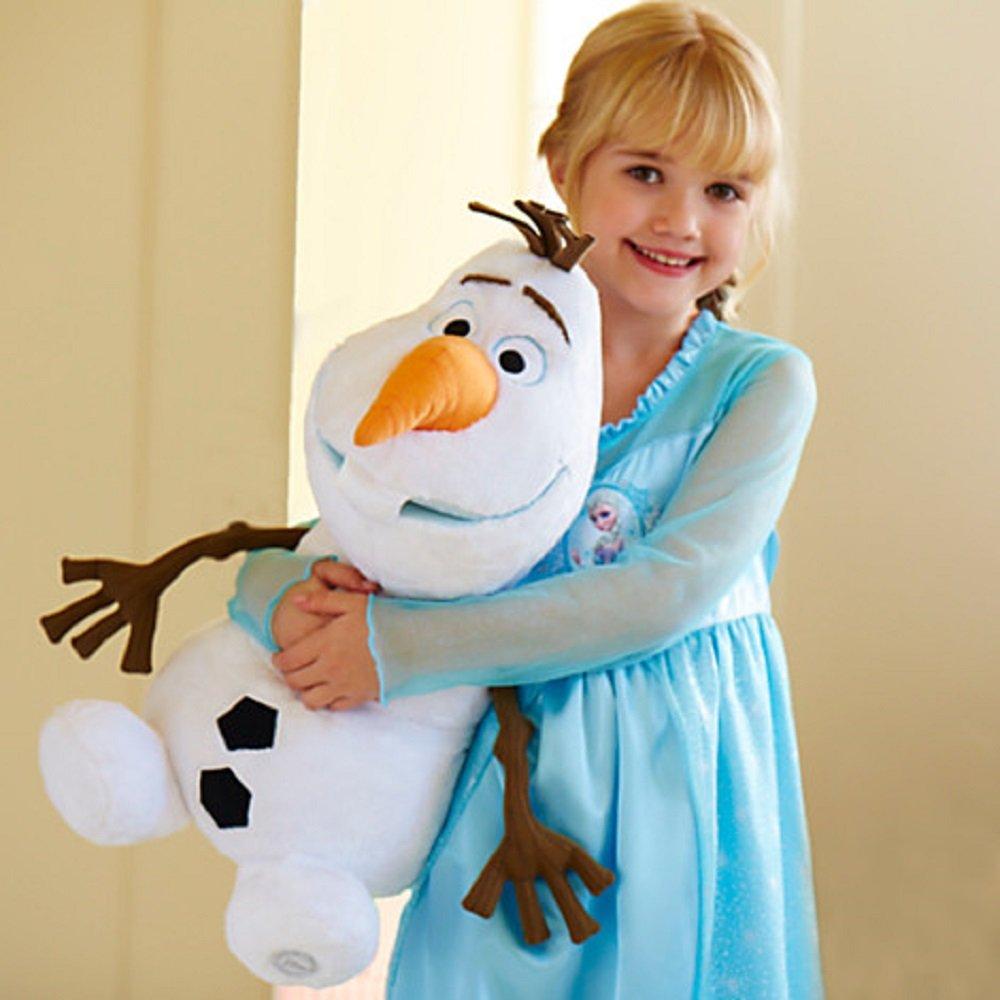 新品本物 Disney Frozen Olaf Plush Olaf アナと雪の女王 オラフ オラフ ぬいぐるみ Plush 18インチ(頭の装飾を含むと22インチ) B00G880H2O, 大根占町:480d1974 --- senas.4x4.lt