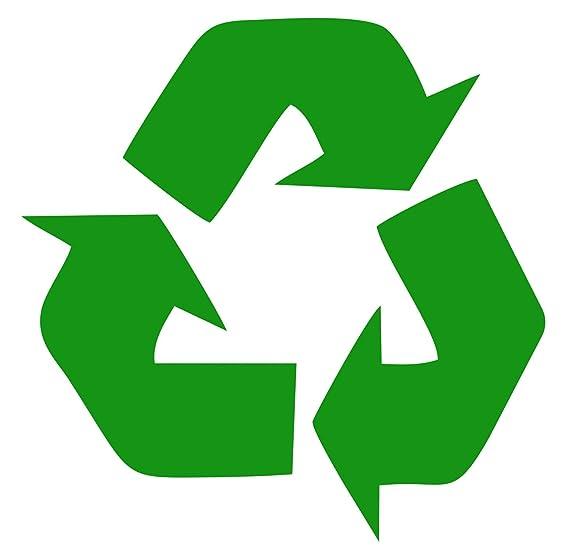Amazon Recycle Symbol Green 5 Vinyl Decal Sticker Automotive