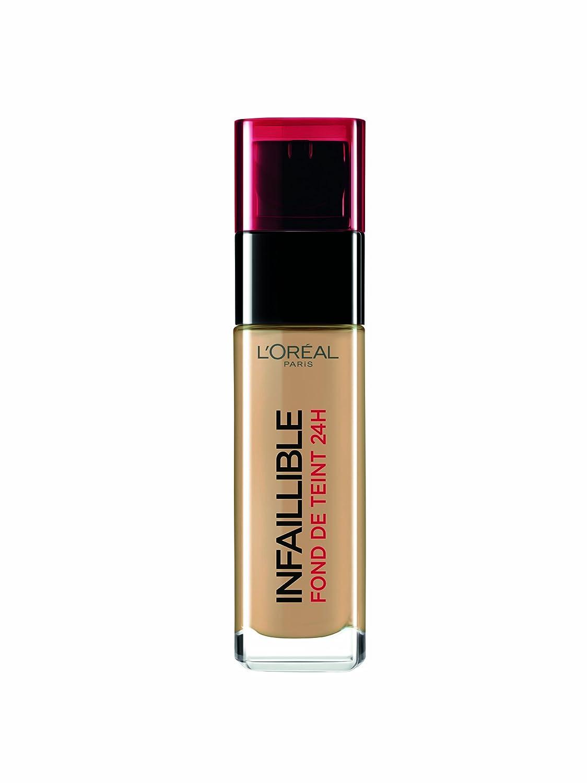 LOréal Paris Make-Up Designer Infallible 300 Ambre base de maquillaje Frasco dispensador Líquido - Base de maquillaje (Ambre, Frasco dispensador, Líquido, ...