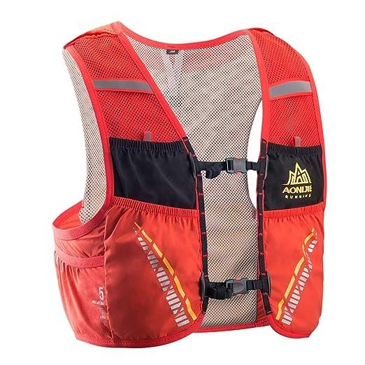 5L Correr al Aire Libre Mochila Mochila hidrataci/ón Bolsa de Agua Sport Climbing Camping Trail Running Chaleco